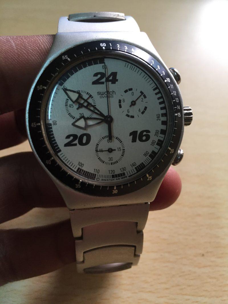 Swatch Aluminium - Chronograph