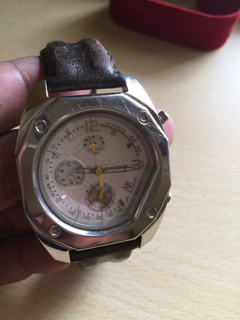 Titan Aviator Men's Watch