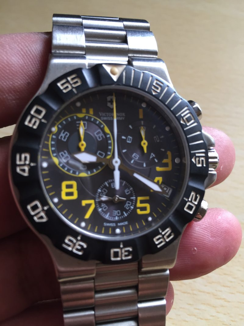 Victorinox Chronograph men's watch