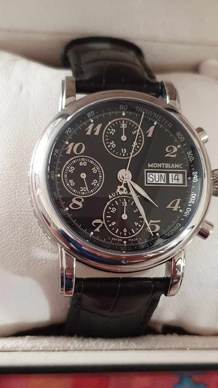 Montblanc 4810 Meisterstuck Chronograph Stainless Steel