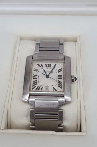 Cartier Tank Steel Automatic Watch