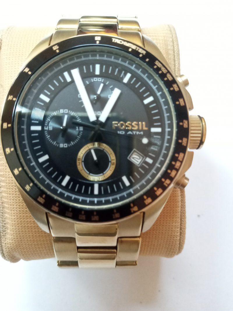 Fossil gold Men's watch